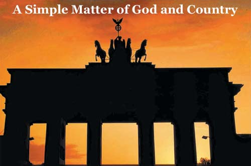 A Simple Matter of God and Country